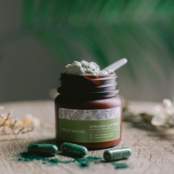 SPIRULINA CLAY MASK – Clarifying & Refreshing